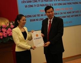 Hơn 13.000 tỉ đồng xây dựng cao tốc Hạ Long - Vân Đồn