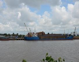 """""""Tuýt còi"""" tàu chở dăm gỗ tiềm ẩn nguy cơ mất an toàn"""