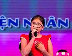 Quán quân Giọng hát Việt nhí Thiện Nhân được trao học bổng