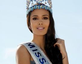 Hoa hậu Thế giới với bài phát biểu xúc động