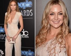 Jennifer Lopez sành điệu với bộ liền, Kate Hudson kiêu sa với đầm dạ hội