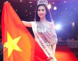 Vũ Trần Triều Thu giành danh hiệu Hoa Hậu Đông Nam Á