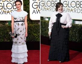Những bộ váy xấu nhất tại Quả Cầu Vàng 2015