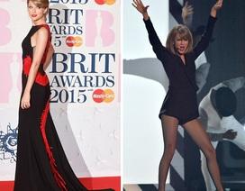 Hình ảnh ngọt ngào và gợi cảm của Taylor Swift tại lễ trao giải Anh