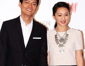 Vợ chồng Châu Tấn sánh đôi đi dự sự kiện