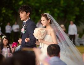 """Xem lại đám cưới lãng mạn của người đẹp Y Năng Tịnh và """"phi công trẻ"""""""