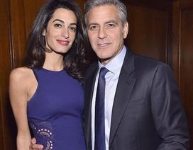 """Vợ chồng """"gã đầu bạc"""" George Clooney lọt danh sách những người giàu nhất nước Anh"""