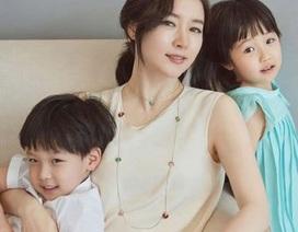 """""""Nàng Dae Jang Geum"""" trẻ đẹp bên cặp sinh đôi"""