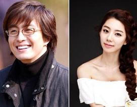 Tài tử xứ Hàn Bae Yong Joon bất ngờ thông báo sắp lấy vợ