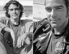 """Ảnh thời trẻ điển trai của """"gã đầu bạc"""" George Clooney"""