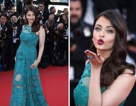 Cựu hoa hậu Thế giới tái xuất ấn tượng tại LHP quốc tế Cannes