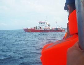 Phó Thủ tướng chỉ đạo khẩn trương tìm kiếm 8 thuyền viên mất tích
