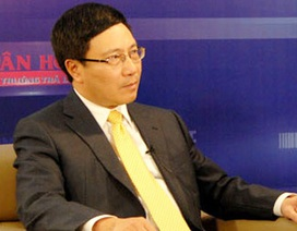 Phó Thủ tướng Phạm Bình Minh: 2015 sẽ tập trung làm rõ tình hình Biển Đông