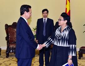 Việt Nam, Indonesia, Ấn Độ thống nhất quan điểm ổn định tình hình Biển Đông