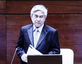 """Bộ trưởng KH-CN: """"Gợi ý của đại biểu chính là đề xuất của tôi mấy năm trước"""""""