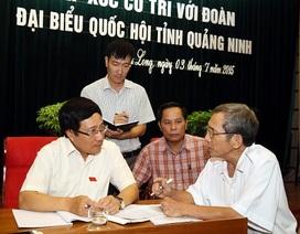 Phó Thủ tướng Phạm Bình Minh trả lời cử tri về việc Trung Quốc lấn biển