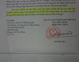 """Ý kiến Luật sư xung quanh vụ việc tại Hưng Yên: Người dân khốn khổ vì văn bản chỉ đạo """"lạ lùng"""" của Phó chủ tịch huyện"""