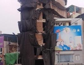 Xử lý công trình gấp rút vượt tầng sau hàng loạt quyết định đình chỉ tại phường Trung Liệt
