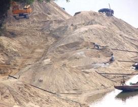 Bài 8: Xử phạt, đình chỉ hoạt động doanh nghiệp cố tình sai phạm đào cát sông Lô