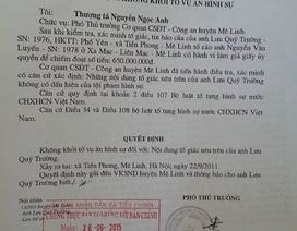 """Hà Nội: """"Rất rõ dấu hiệu tội phạm trong vụ phó chủ tịch xã xác nhận """"ma"""""""""""
