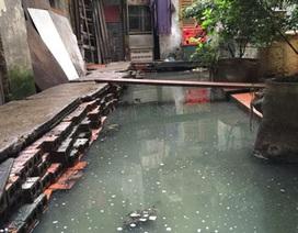 Công ty Thoát nước báo cáo nguyên nhân nhấn chìm nhà 146 Quán Thánh