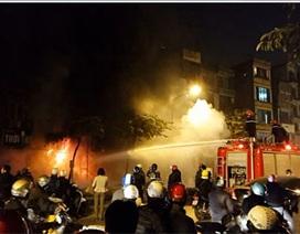 Hà Nội: Cháy lớn ở thẩm mỹ viện trên đường Kim Mã