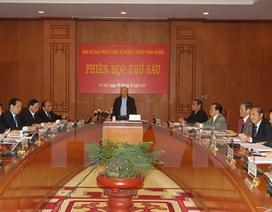 Phiên họp thứ 6 Ban Chỉ đạo Trung ương về phòng, chống tham nhũng