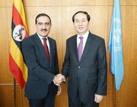 Bộ trưởng Trần Đại Quang hội kiến với Quyền Chủ tịch Đại hội đồng Liên hợp quốc
