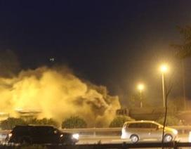 Hà Nội: Cháy dữ dội tại Đại lộ Thăng Long