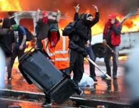 Bạo loạn bùng phát tại thủ đô của Bỉ