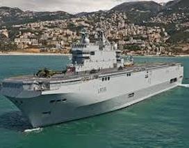 Pháp lại làm khó Nga trong vấn đề chuyển tàu Mistral