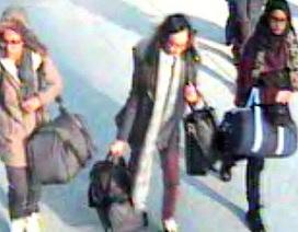 """Ba nữ sinh Anh có thể đã tới Syria theo """"tiếng gọi"""" của IS"""