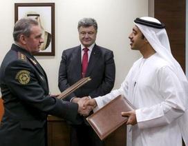 Ukraine ký hàng chục hợp đồng mua bán vũ khí mới