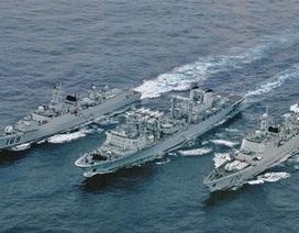 Trung Quốc: Hạm đội Bắc Hải diễn tập tác chiến liên hợp