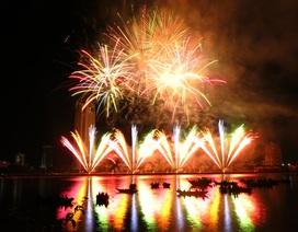 Cuộc thi trình diễn pháo hoa quốc tế đã vận động được 26 tỷ đồng tài trợ