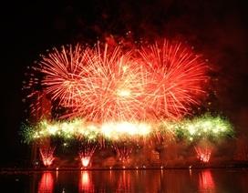 Vé xem pháo hoa Đà Nẵng ở khán đài từ 300 - 500 nghìn đồng