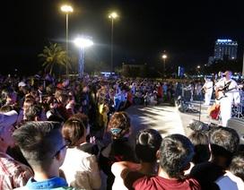Ban nhạc của Hải quân Hoa Kỳ khuấy động Đà Nẵng