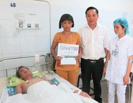 Quỹ Nhân ái hỗ trợ nóng 10 triệu đồng đến người mẹ cùng đường xin đem con về
