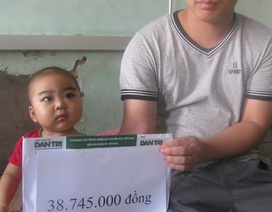 Thêm gần 39 triệu đồng tiếp tục đến với em bé mắc bệnh tan máu