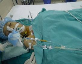 Cô bé Lê Thị Thanh đã được phẫu thuật thành công