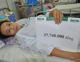 Gần 38 triệu đồng đến với cô Nguyễn Thị Hoa