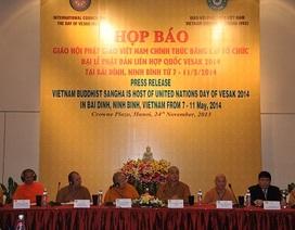 Giáo hội Phật Giáo Việt Nam đăng cai chủ trì đại lễ Vesak LHQ 2014