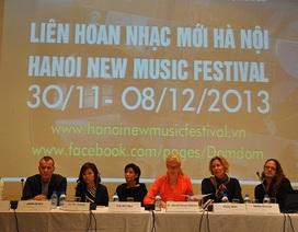 Lần đầu tiên liên hoan Nhạc mới được tổ chức tại Việt Nam