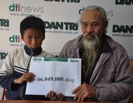 Hơn 66 triệu đồng đến với cậu bé ăn ốc bươu vàng thay cơm