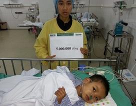 Quỹ Nhân ái hỗ trợ 5 triệu đồng đến bé Minh Duy