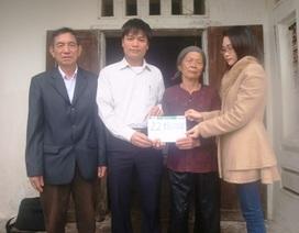 Hơn 22 triệu đồng được trao tới 3 anh em mồ côi cha mẹ
