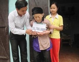 Hơn 33 triệu đồng tiếp sức đến em Cù Thị Vân Hòe