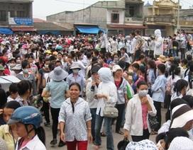 Hàng nghìn công nhân Công ty giày Sunjade đình công đòi quyền lợi