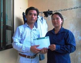 Gần 90 triệu đồng đến với gia đình cháu Trịnh Duy Tuấn