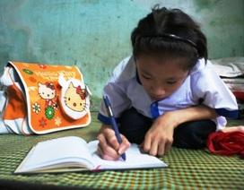 """""""Cô bé xương thủy tinh"""" và ước mơ trở thành nhà văn"""
